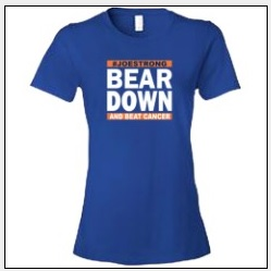 Bear Down with Beat Cancer with Team Clark
