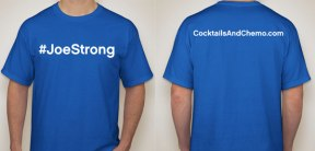 The official shirt of #JoeStrong